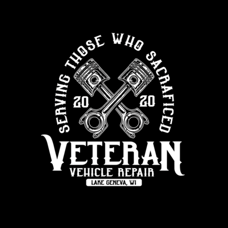 Veteran Vehicle Repair Logo Concept Design