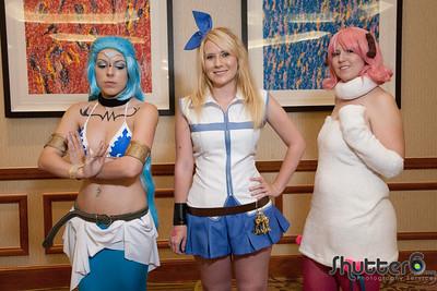 AnimeFest 2014: Fairy Tail Photoshoot