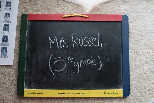 Mrs. Russell - (5th Grade)