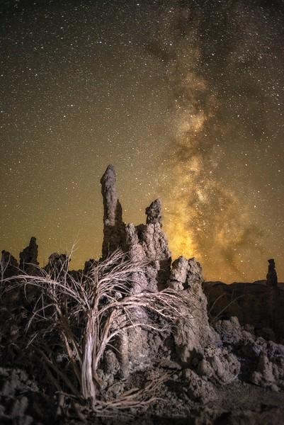 Tufa & Milky Way, Mono Lake, California