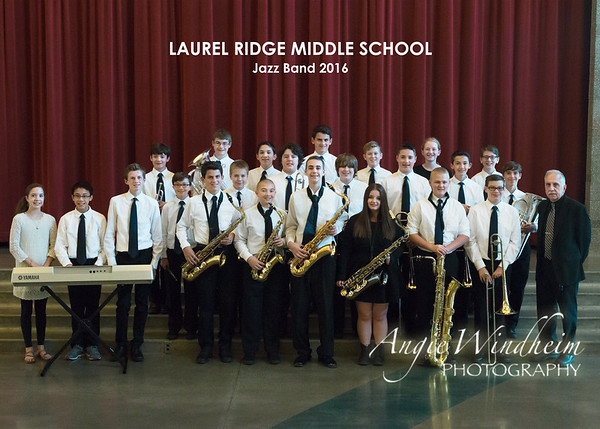 LRMS Jazz Band 2016