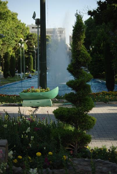 Teheran - park miejski (mają kilkqa fajnych parków)
