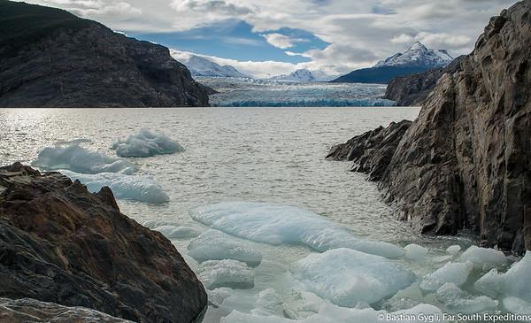Mirador glaciar grey