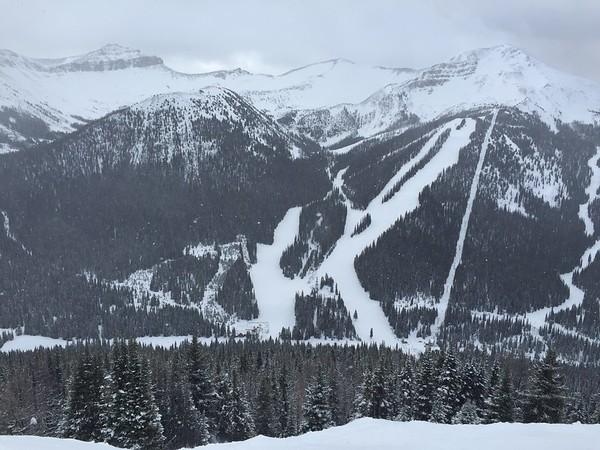 Banff Skiing (2016-02-17)