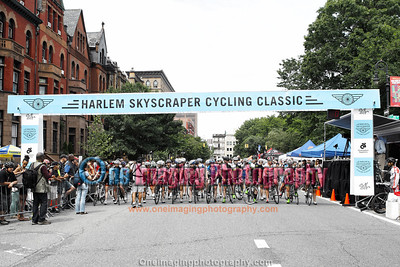 Women--Harlem Skyscraper Cycling Classic 6/16/13