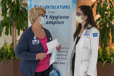HFH Hand Hygiene Champion August 2021