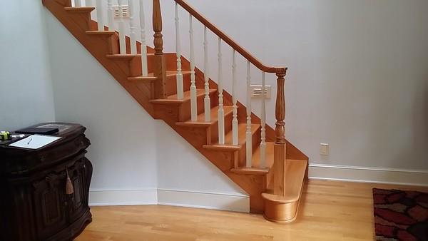 Luke & Preetha's Stairway Remodel