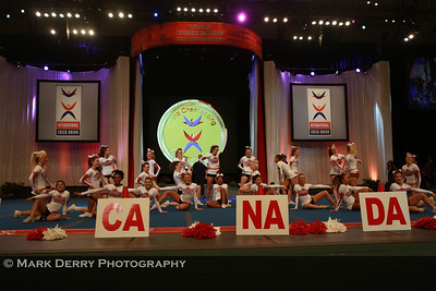 Worlds 2013 - Team Canada All-girl L6