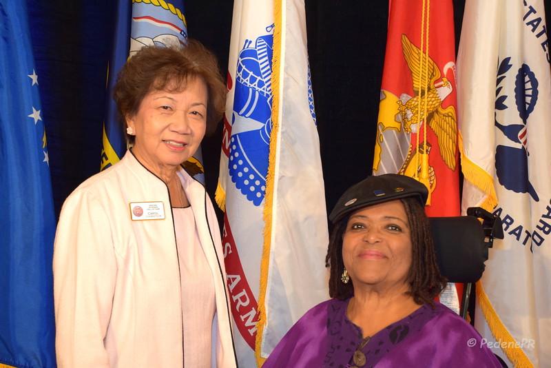 Carol Culbertson and Dr. Applewhite