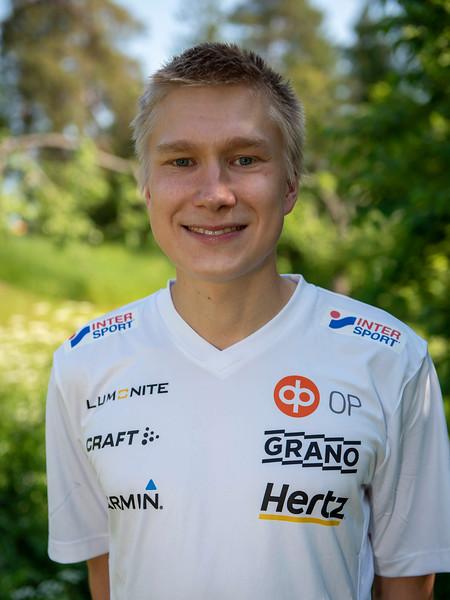 Elias Kuukka, kuva: SSL/Pirjo Valjanen