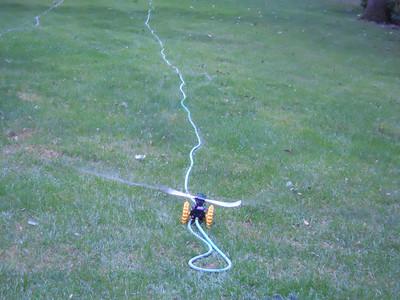 Travelling Tractor Lawn Sprinkler