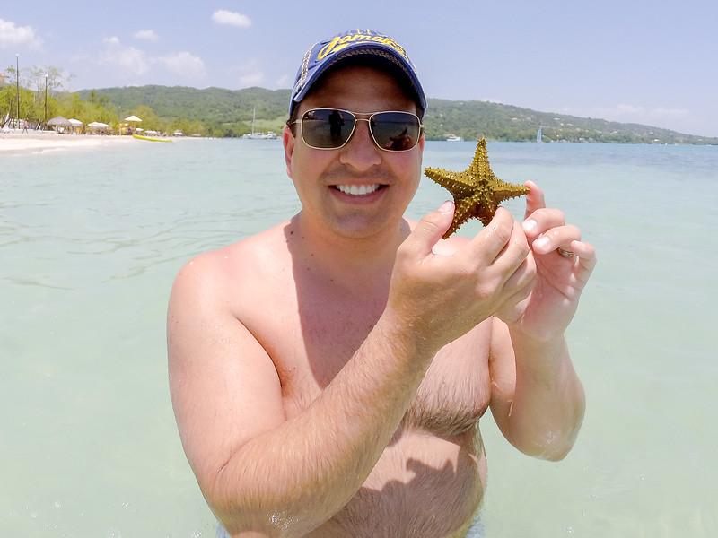 Held my first starfish!