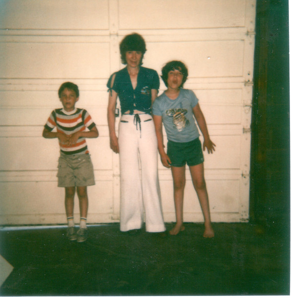 Mom, George, and buddy Andreas.