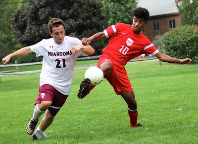 LTS Boys Varsity Soccer vs Proctor photos by Gary Baker