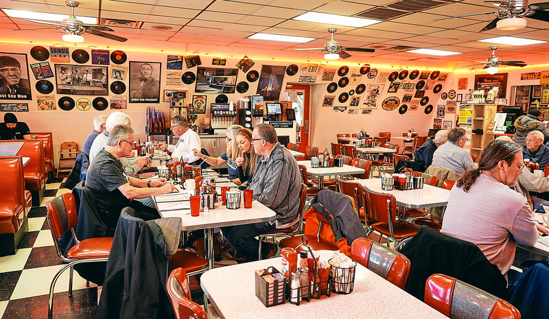 Route 66 -Springfield, Charlie Parker's Diner