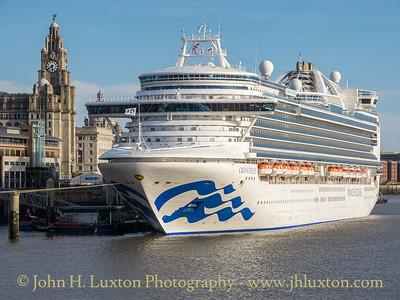 Crown Princess - Liverpool - September 14, 2019