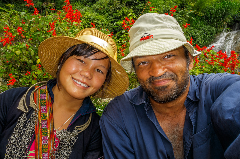Having a great time in Sapa with my friendly local guide Na.