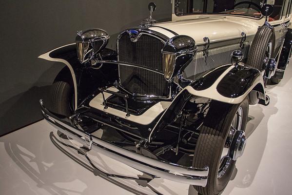 NC Museum of Art - Art Deco Car Exhibit