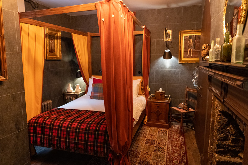 Wizard Chambers at the Georgian House Hotel