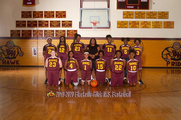 2019-2020 MS Girls Basketball