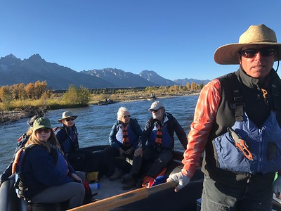 Exploring the Tetons by Boot and Boat III