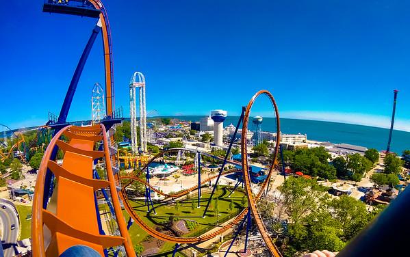 Cedar Point Summer