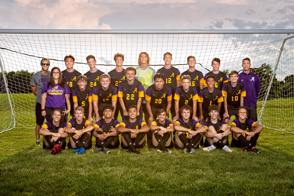 Boys Soccer Team 2019