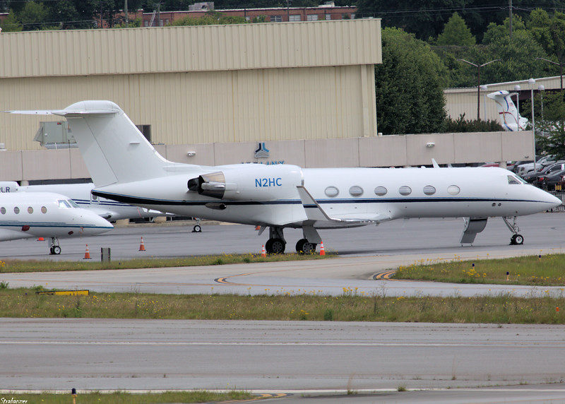Gulfstream G-IV c/n 1294  N2HC KPDK, GA, 05/08/2021, This work is licensed under a Creative Commons Attribution- NonCommercial 4.0 International License.