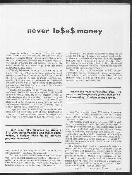 SoCal, Vol. 64, No. 19, October 18, 1971