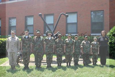 Alexandria Young Marines Graduation 2012