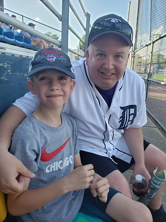 2019-06-29 Friends - Duane and Tyler at the Snapper's game