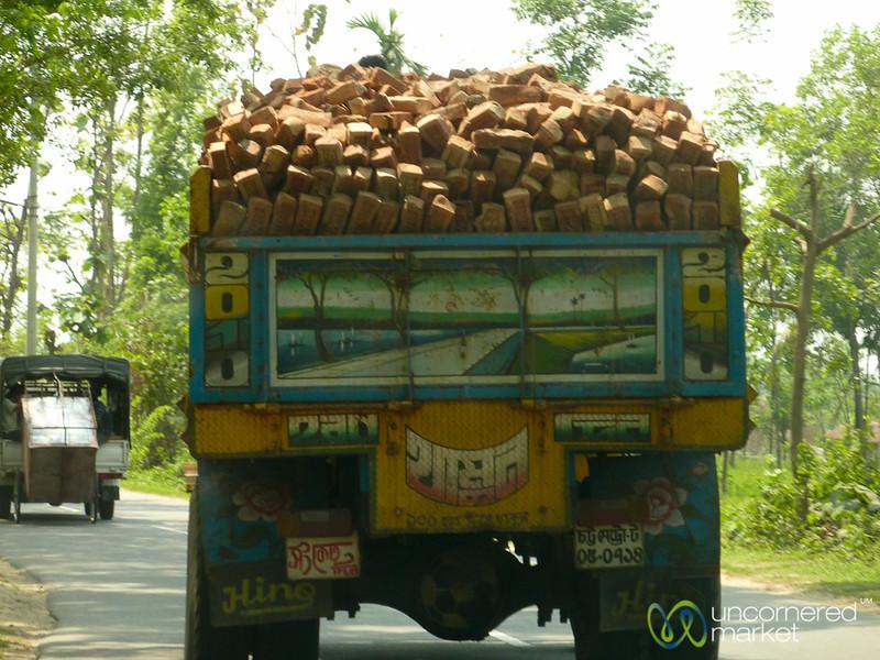 Brick Truck Danger - Rangamati, Bangladesh