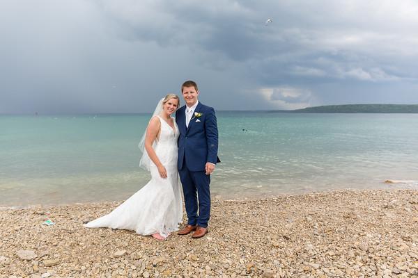 Mackinac Island Mission Point Resort outdoor gazebo Wedding