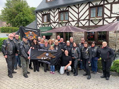 15th July 2019 - The Ardennes - Leaving Smuid