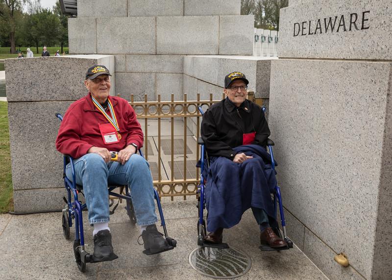 2018 October Puget Sound Honor Flight at WWII Memorial  (87 of 28).jpg