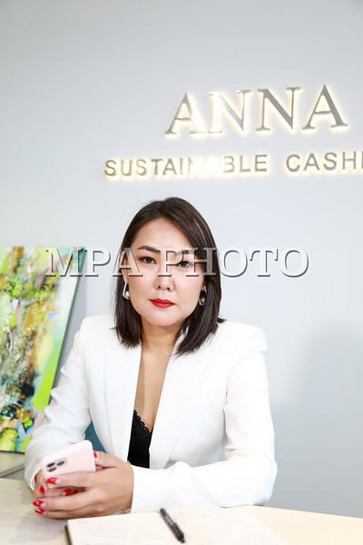 ANNA Mongolia -Sustainable Cashmere-ийн Гүйцэтгэх захирал Г.Ариунжаргал