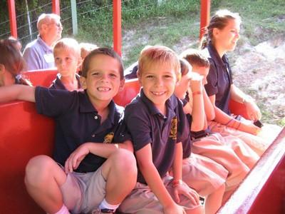 1st & 2nd grade visit Busch Gardens 2011