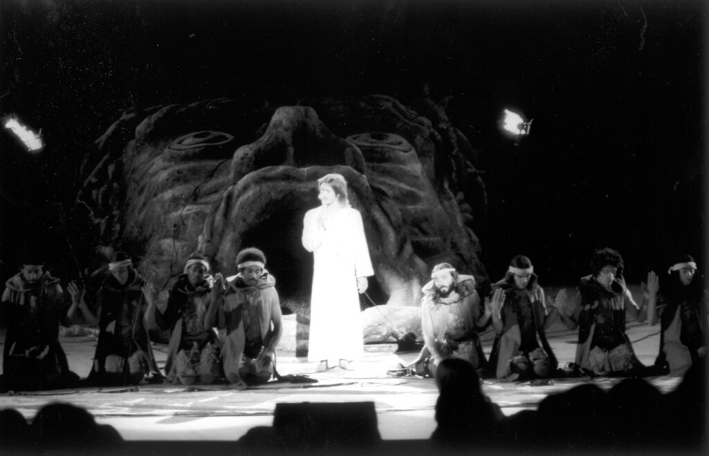 ". The Universal Amphitheatre opened in 1972 with a production of  ""Jesus Christ Superstar.\""   L.A. Daily News file photo"