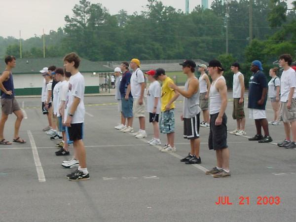 2003-07-21: Band Camp (Day 1)