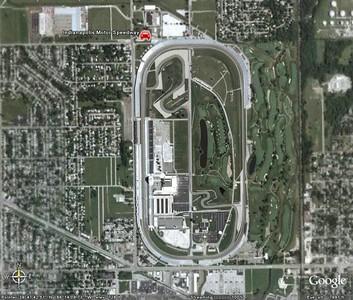 Google Earth - Race Tracks
