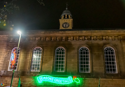 Glossop Christmas Lights Switch On 2019