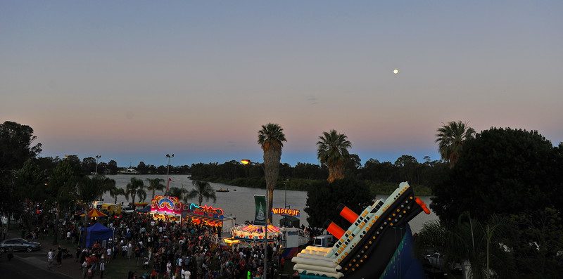 Renmark Xmas Pageant Night 2014