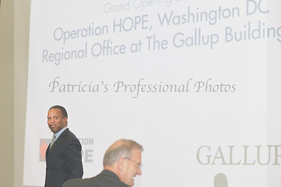 Grand Opening of the Operation HOPE, Washington Regional Office at the Gallup Building