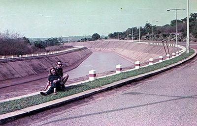 DUNDO -  CANAL DA BARRAGEM, 1969