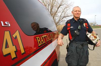 Battalion Chief Jim Drummond Retirement