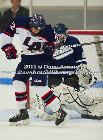 1/14/2011 - Boys Varsity Hockey - Lawrence Academy vs Nobles