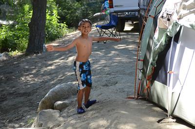 Camping  July 2011 - La Jolla Indian Reservation