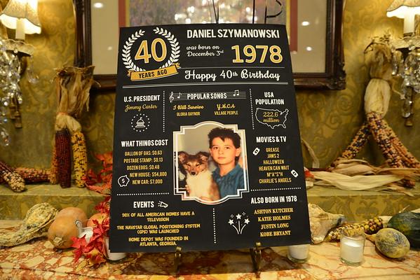 Daniel's 40th Birthday