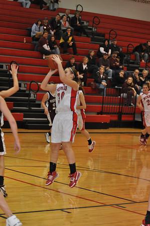 Var Girls Basketball vs Waverly - 1/22/10