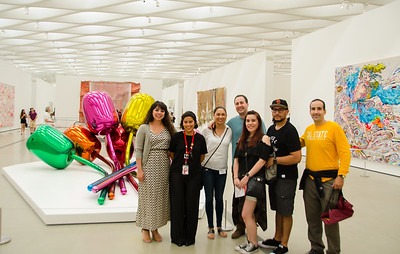 ALUMNI AT THE BROAD MUSEUM